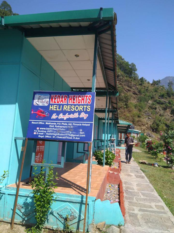 Kedar Heights Heli Resort Phata