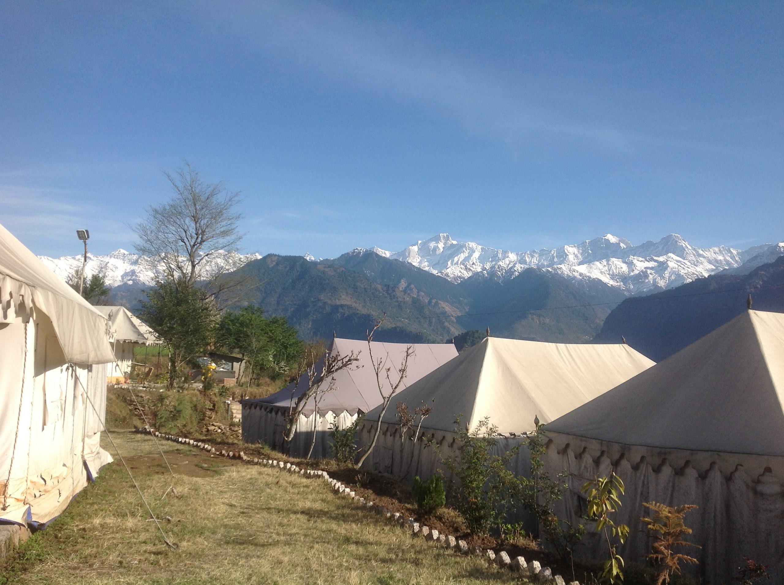 Camp Nirvana Guptkashi, Kedarnath