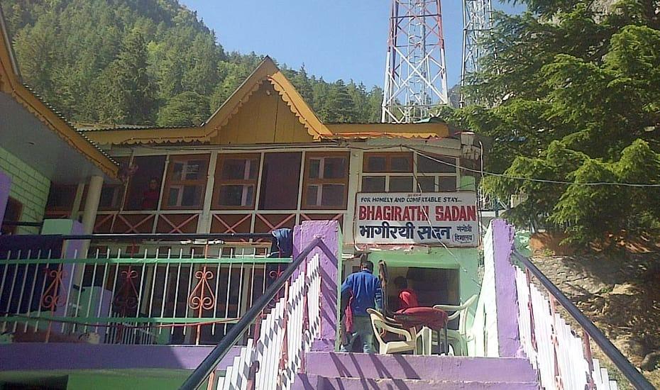 hotel bhagirathi sadan gangotri